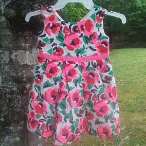 NWT Childrens place occasions flower dress 4t
